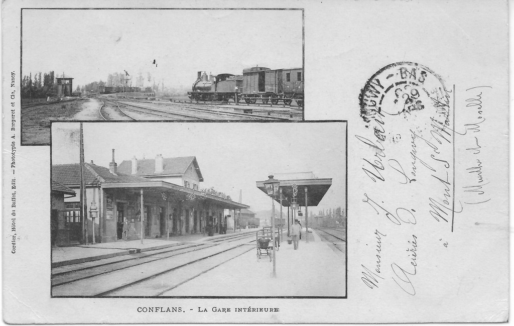 Carte De La Gare